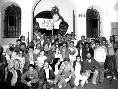 Colla de caramelles del Patronat d'A.S.C l'any 1987 | Font: Joan Comas Ferré
