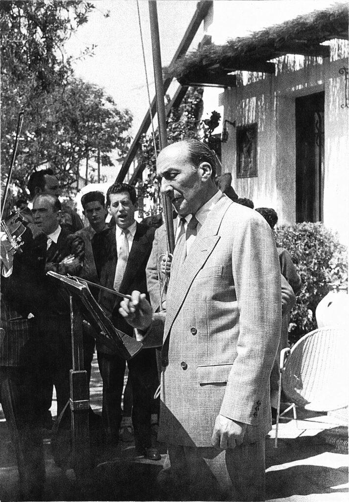 Gabriel Pallarès i Roig | Font: Arxiu Societat Recreativa El Retiro