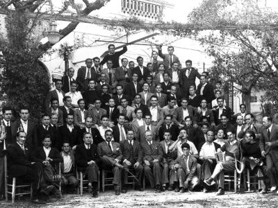 Colla de caramelles d'El Retiro de la dècada de 1900 | Font: Sebastià Giménez Mirabent