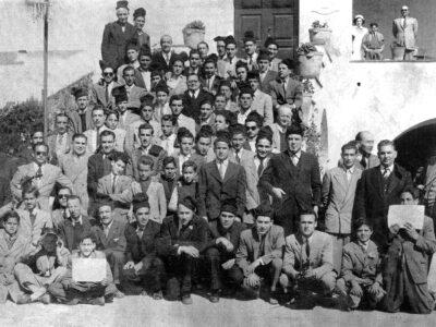 Colla de caramelles del Prado cap a 1960 | Font: Casino Prado Suburense