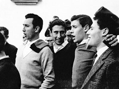 Cantaires de l'Schola Cantorum l'any 1964 | Font: Juli Delclós Egea