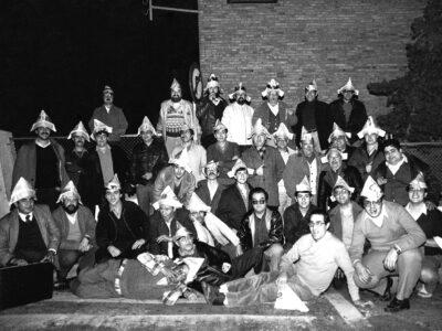 Xatonada de les caramellles del Patronat d'A.S.C l'any 1983 | Font: Joan Comas Ferré