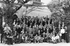Colla de caramelles del Prado de la dècada de 1940 | Font: Joan Yll Fontanals