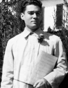 El mestre Jordi Pañella i Virella l'any 1950 | Font: Família Pañella