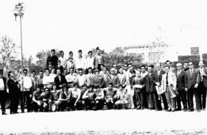 Colla de caramelles de l'Schola Cantorum del Patronat d'A.S.C l'any 1973 | Font: Manel Martí Mirabent