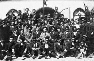 Colla de caramelles d'El Retiro l'any 1911 | Font: Sebastià Giménez Mirabent