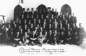 Colla de caramelles del Prado l'any 1929 | Font: Casino Prado Suburense
