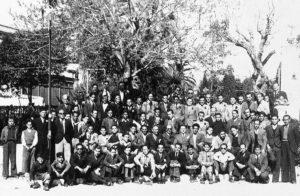 Colla de caramelles d'El Retiro l'any 1950 | Font: Sebastià Giménez Mirabent